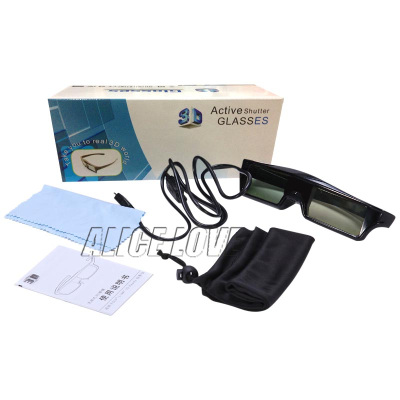 Bluetooth 3D Active Shutter <font><b>Glasses</b></font> for Sony Samsung <font><b>Panasonic</b></font> EPSON 3D TV TDG-BT500A TDG-BT400A Epson RF3D <font><b>Glasses</b></font> ELPGS03