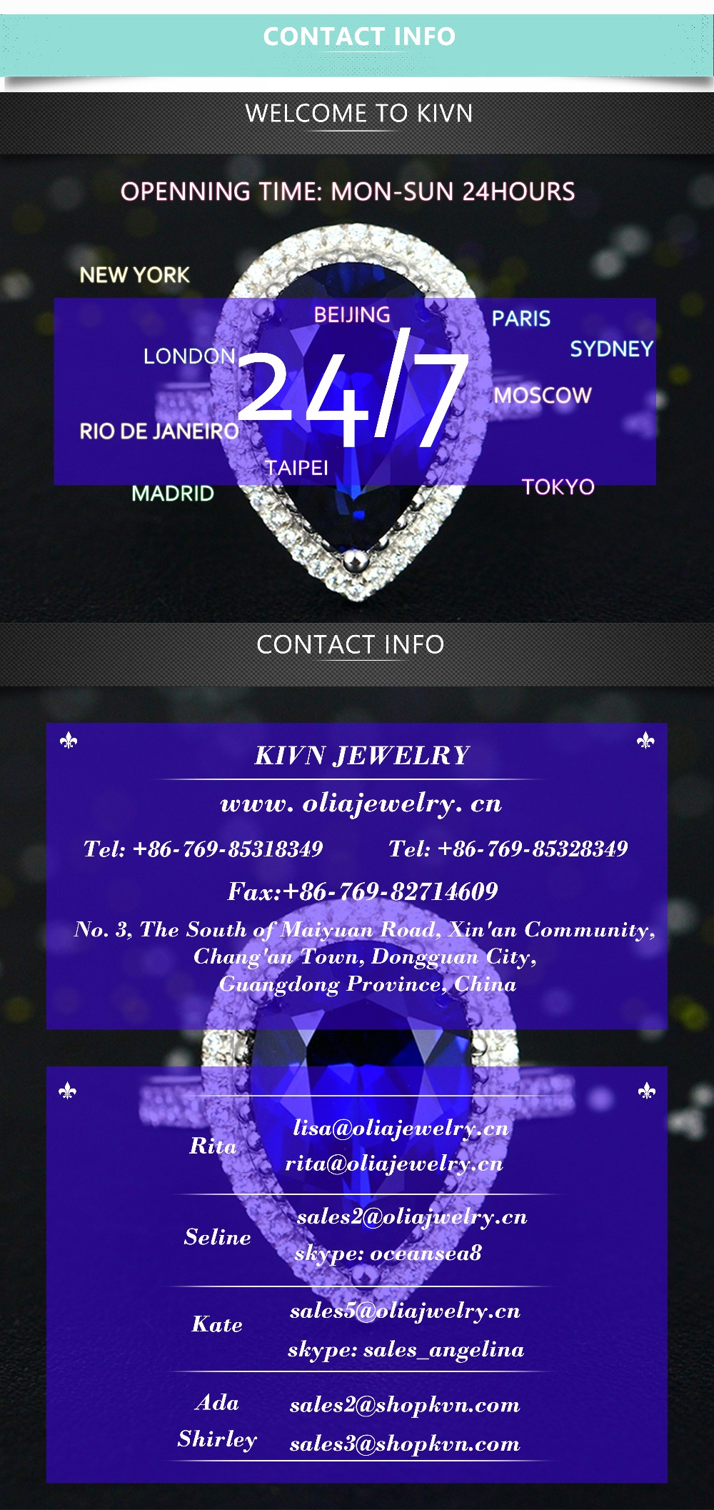 7Contact Info