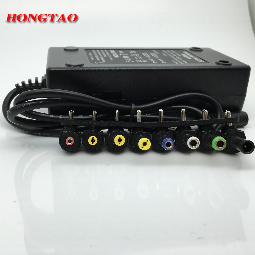 110-220v AC na DC 12V / 15V / 16V / 18V / 19V / 20V / 24V prenosni - Računalniški kabli in priključki - Fotografija 5