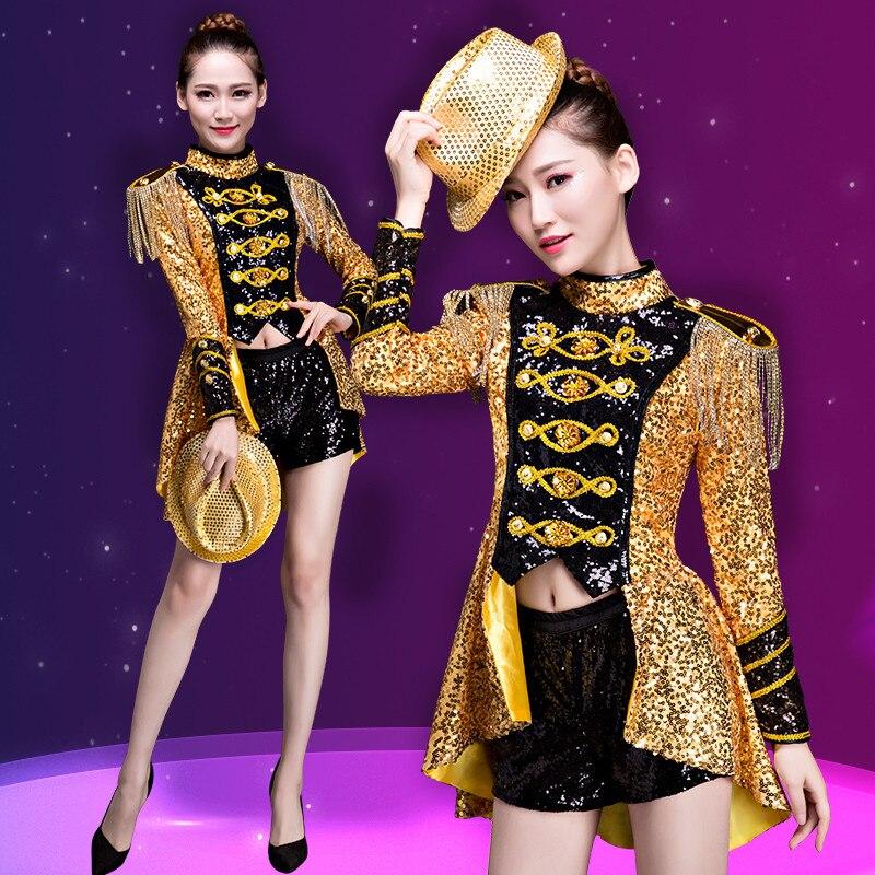 Sexy vestido de baile para niñas Moda Lentejuelas trajes de baile de ...