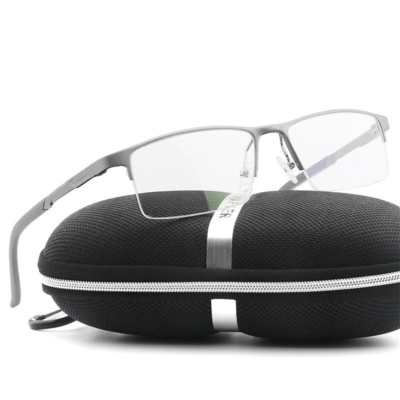 Cubojue 144mm Aluminium Men's Glasses Wide Face Customize Optical Prescription Lens Myopia/diopter Eyewear Spring Hinge Male