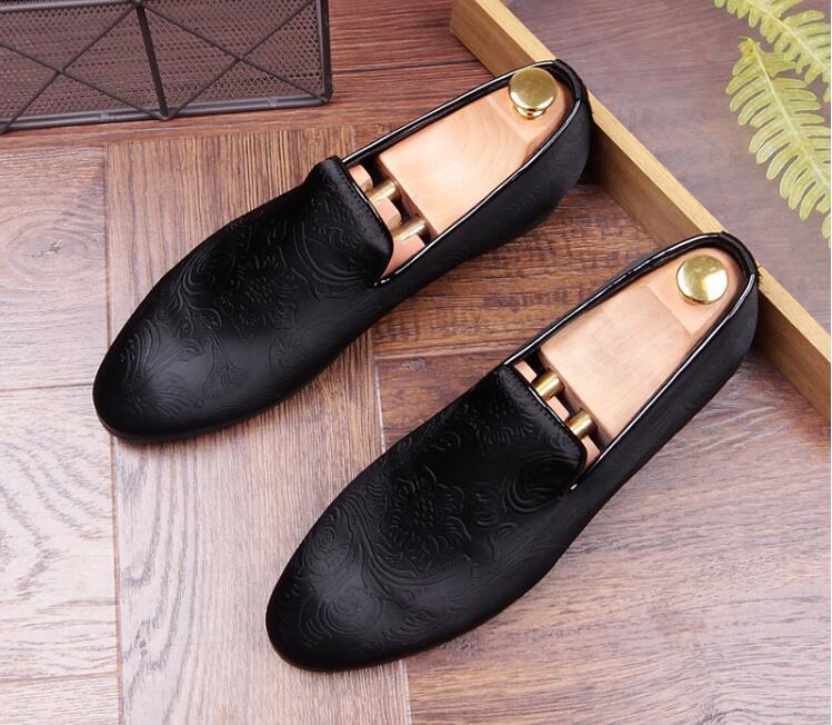 Oxfords Casa Britânica Social Couro Vestido Finalistas Masculino De Casamento Homens A Luxo Marca Do Black Novo Designer Relevo Em grey Regresso Sapato Sapatos Baile qYw0C