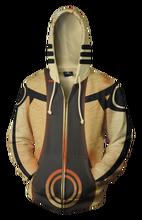 2018 new fashion Cool sweatshirt Hoodies Men women 3D print Naruto Kuvira cool ZIP UP hot Style Streetwear Long sleeve