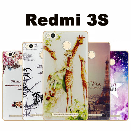 Xiaomi Redmi 3s font b case b font cover TPU New wave font b case b
