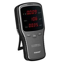 Big Discount HCHO PM1.0 PM2.5 PM10 Formaldeyde Detector TVOC Monitor Gas Analyzer Household PM 1.0 2.5 10 Air Quality Detector
