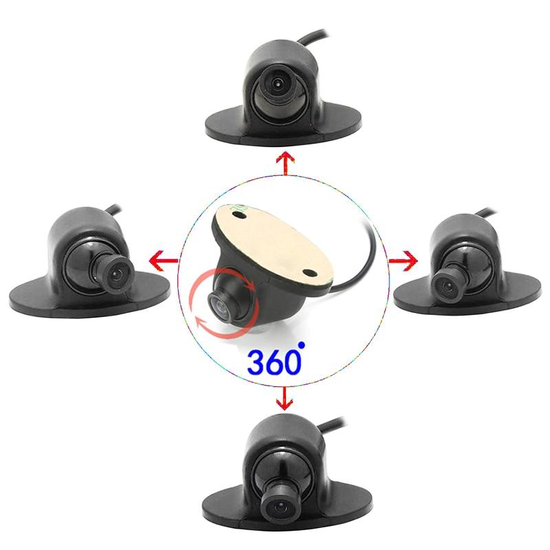 Kamera nocna CCD HD noktowizor przedni / boczny / lewy / prawy / kamera tylna 360 stopni Obrót kamery parkowania uniwersalnego samochodu