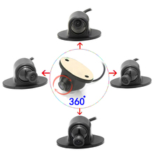 CCD HD night vision car camera front/side /left/right /rear view 360 degree Rotation universal reversing park