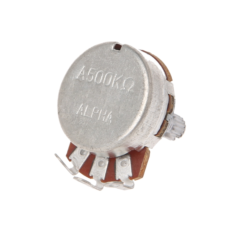 A500K OHM Audio POTS Potentiometer 24mm Base Replace For Electric Guitar High Quality