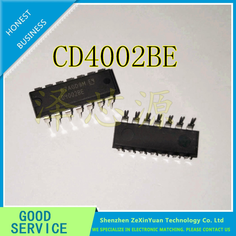 10 pcs/lot CD4002BE CD4002B CD4002 DIP-14 Nouveau original10 pcs/lot CD4002BE CD4002B CD4002 DIP-14 Nouveau original