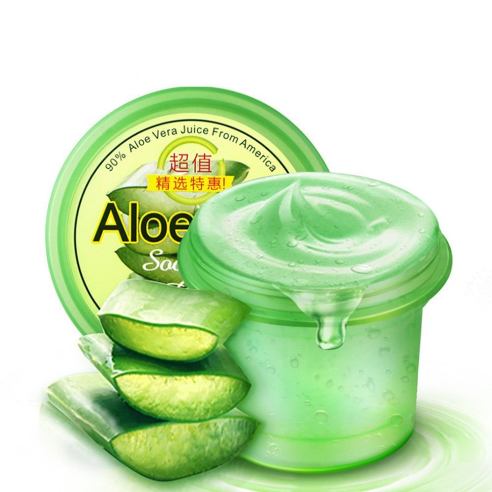 Natural Aloe Vera Gel Face Skin Care Moisturizing Day Cream Smooth Gel Acne Treatment For Hydrating Moist Repair After Sun