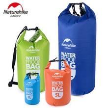 NatureHike Outdoor Waterproof Bags Ultralight Camping Hiking Dry Organizers Drifting Kayaking Swimming Bags 2L 5L 15L 25L цена 2017