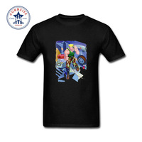 2017 Various Colors Funny Cotton Street Fighter Guile Funny T Shirt For Men