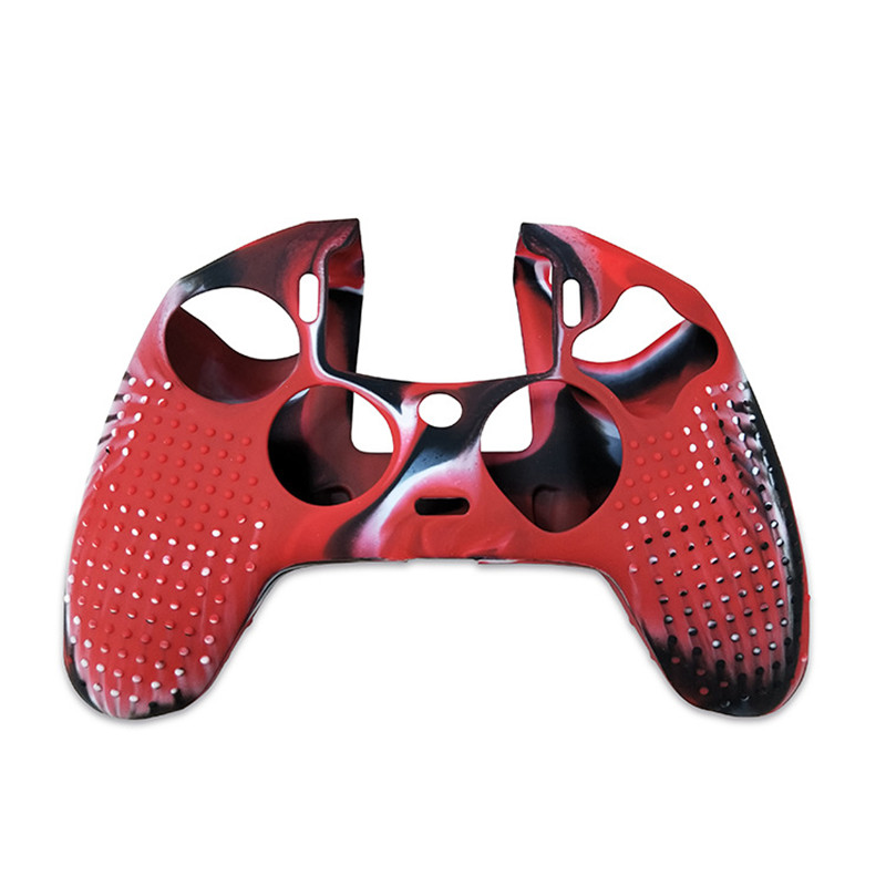 Silicone Soft Case Skin Grip Cover Protective for Playstation 4 PS4 Nacon 2 Controller High Quality (9)