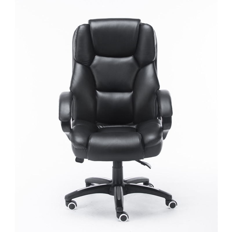 High Quality Super Soft Office Computer Chair Household Leisure Lying Boss Chair Thick Cushion Swivel Lifting Office Furniture 240337 ergonomic chair quality pu wheel household office chair computer chair 3d thick cushion high breathable mesh