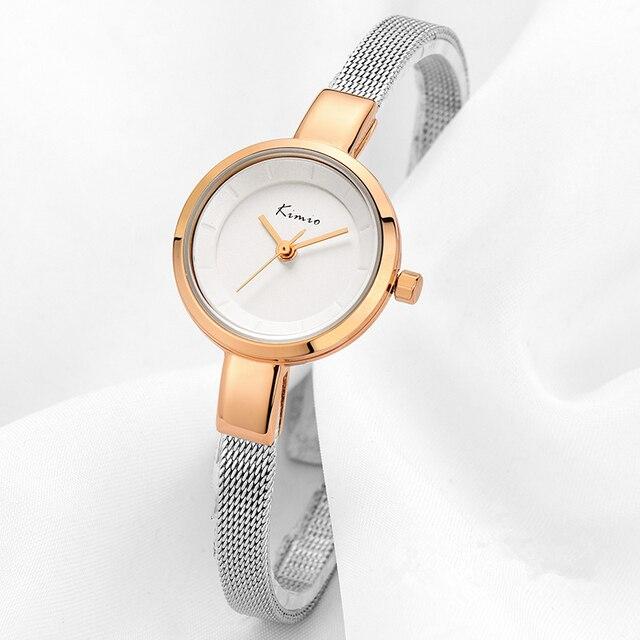 2017 Luxury Brand Watch Women Bracelet Elegant Stainless Steel Wristwatch Round Friendship Relogio Feminino Quartz-watch Female