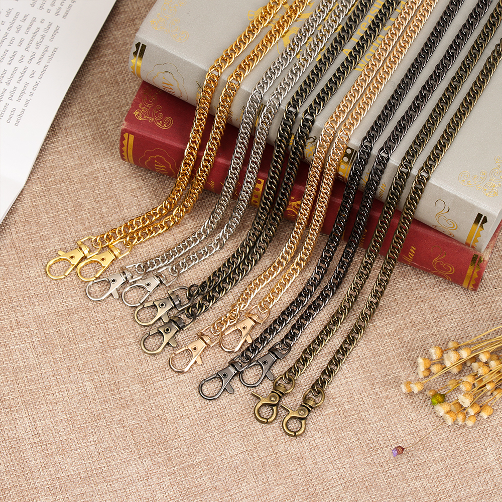 1pc Purse Accessories Hardware Metal Long Durable Gift Practical Bag Chain Multi Use Handbag Strap DIY Fashion Replacement Belt