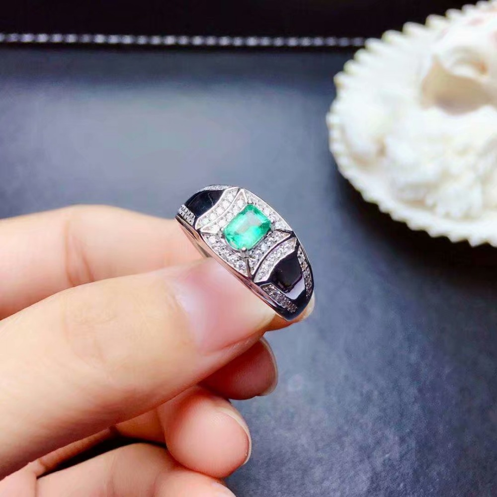 shilovem 925 sterling silver real Natural Emerald Rings fine Jewelry women trendy wedding open wholesale gift jcj3.53.566agmlshilovem 925 sterling silver real Natural Emerald Rings fine Jewelry women trendy wedding open wholesale gift jcj3.53.566agml