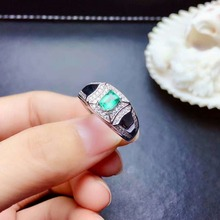 shilovem 925 sterling silver real Natural Emerald Rings fine Jewelry women trendy wedding open wholesale gift jcj3.53.566agml shilovem 925 sterling silver natural emerald rings fine jewelry women trendy wedding wholesale gift open 4 5mm mj0405911agml