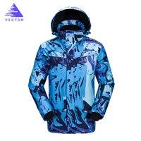 Men's Skiing Jackets Snowboard Sets Men Ski Suit Brands Waterproof Breathable Male Snowboard Suits Printed Men's Skiing Jackets