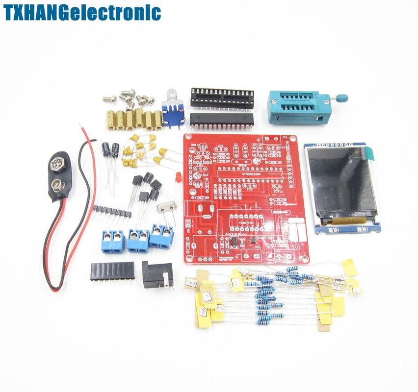 Mega328 Transistor Tester LCR Capacitance ESR meter PWM DIY TFT LCD  Generator electronic diy kit