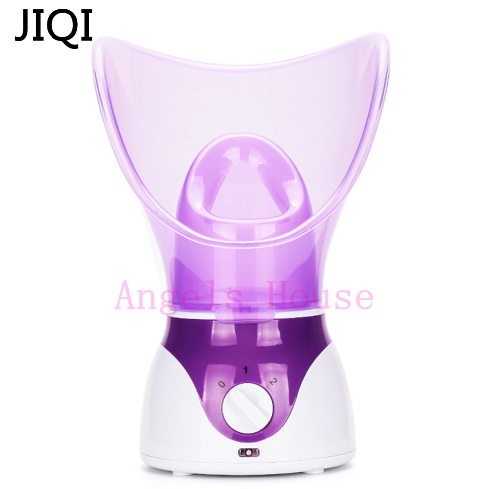 JIQI High Quality Deep Cleaning Machine Facial steamer Facial Cleaner Beauty face steaming device Facial thermal device Sprayer deep face cleansing brush facial cleanser 2 speeds electric face wash machine