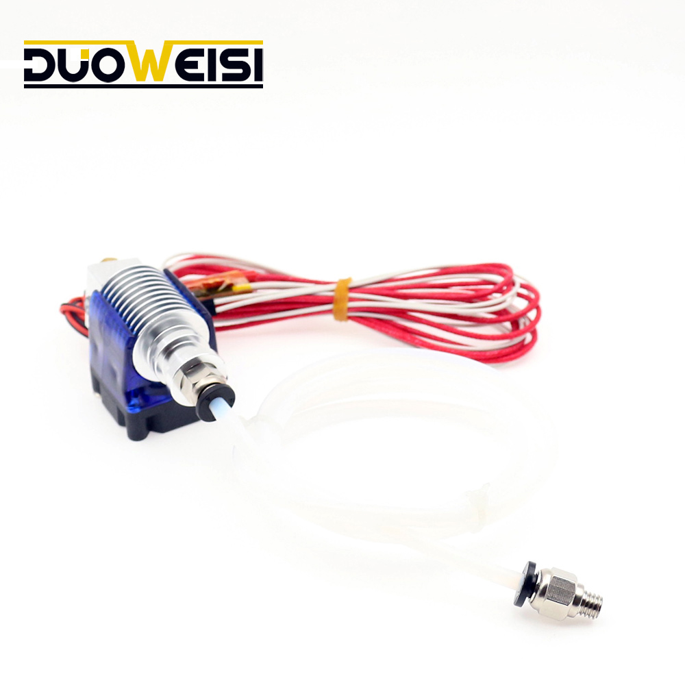 3D printer V6 remote extrusion print head extruder with Thermistors Cartridge Heater J HEAD hotend long