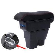 Per Skoda Fabia/fabia 2 box bracciolo centrale casella dei contenuti Negozio di supporto di tazza interni auto-styling della decorazione di accessori 08-17