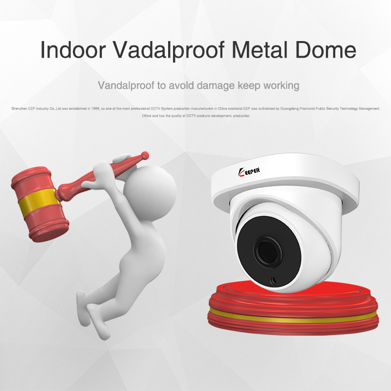 Image 3 - Keeper 1080P 2MP AHD Analog Indoor dome HD camera 3.6mm with Night Version Anti vandal Analog CCTV surveillance Camera-in Surveillance Cameras from Security & Protection