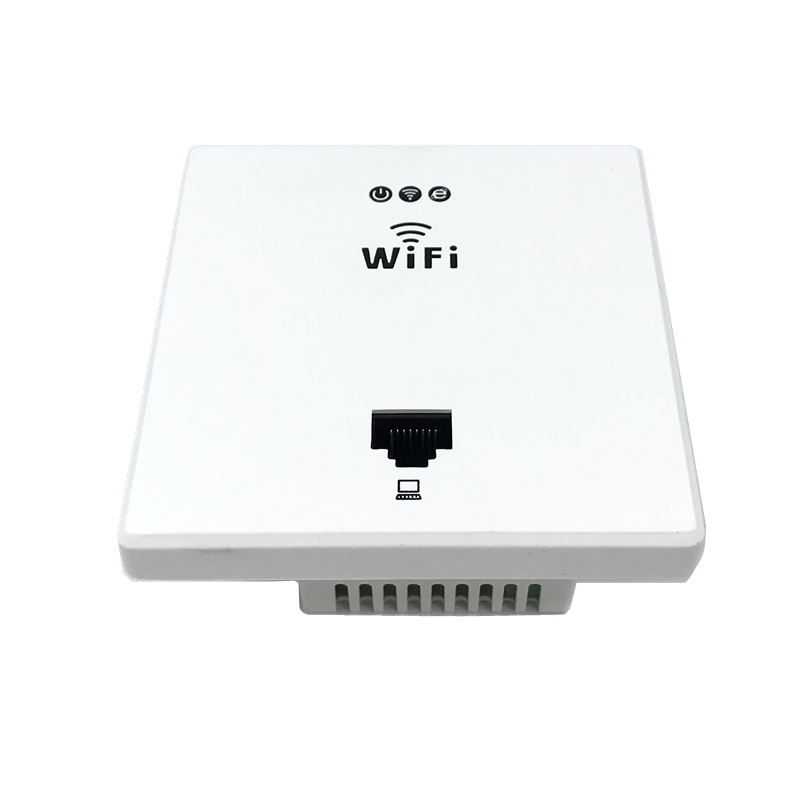 ANDDEAR White Wireless WiFi In Wall AP High Quality Hotel Rooms Wi-Fi Cover Mini Wall-mount AP Router Access Point