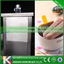 Colorful and commercial fruit ice pop machine making with CFR price by sea