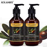 2 pieces Morocco Argan Oil hair conditioner For Curly Hair repair split and anti frizz make hair shine and moisturizing