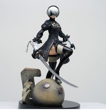 15Cm PS4 Game Anime Figuur Nier Automaten Yorha Geen. 2 Type B 2B Cartoon Speelgoed Action Figure Gift