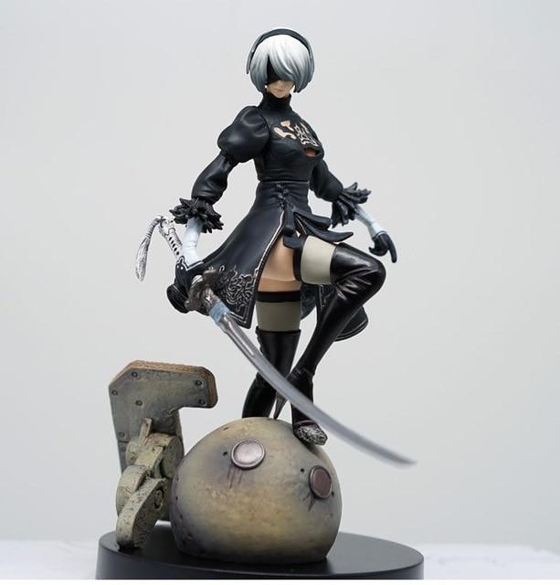 15cm ps4 jogo anime figura nier automata yorha não. 2 tipo b 2b brinquedo dos desenhos animados figura de ação presente