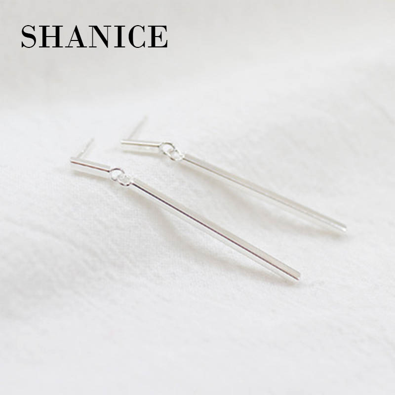 SHANICE Simple Style Silver Jewelry The Geometry Of