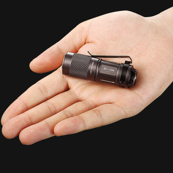 JETBeam II MK JET-II MK Cree XP-L HI LED 510 Lumens Waterproof Flashlight  Small size , easy for everyday carry