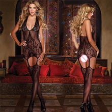 sexy porn lingerie women hot mesh fishnet net open crotch erotic teddy lingerie transparent sexy underwear costumes sex products