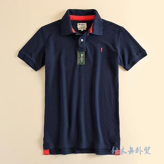 Camisa Polo Dos Homens Marca de verão de Algodão de Alta Qualidade Homem de Negócios de Moda Casual Pique Polo-shirt Tamanho M/L/XL/XXL Promoção