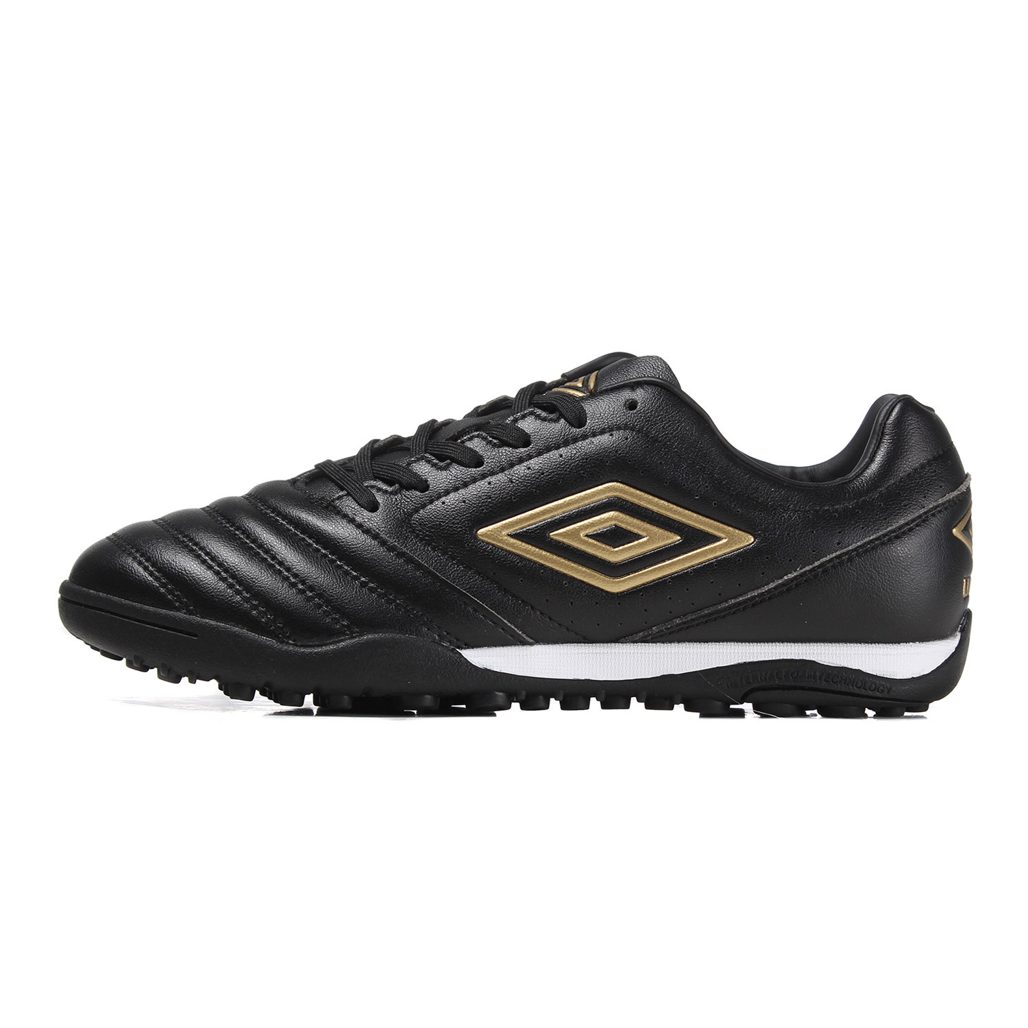 Umbro Rubber Soles Turf Soccer Shoes For Men Breathable Antiskid Race Training Shoes For Soccer Sneakers Men Ucb90145 umbro football shoes men breathable rubber antiskid hg professional competition training football boots soccer shoes ucb90129
