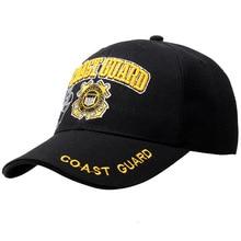 US Coast Guard baseball cap snapback hat embroidered hip hop cotton snapback golf cap sun hat
