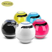 Bolida Bluetooth Mini Speaker Receiver Boombox FM Radio Portable Caixa De Som Amplifier MP3 Subwoofer With Mic Loudspeaker