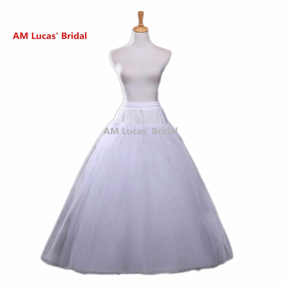 الزفاف التنورة الداخلية تحتية ل الزفاف النساء الكبار تنورات خمر تول لون الرسم البياني قماش قطني تحتية