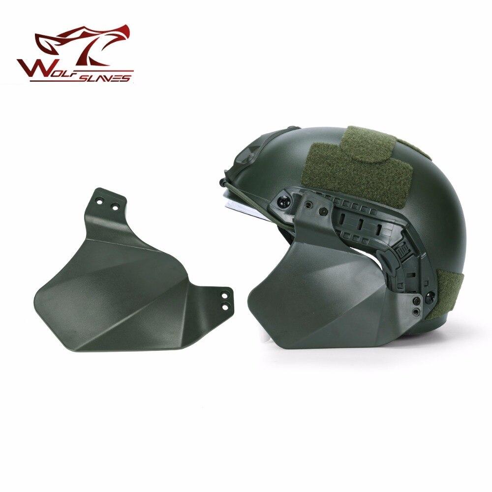 Тактический Защитный шлем для быстрого крепления, 2 боковых чехла для защиты ушей, аксессуары для страйкбольного шлема