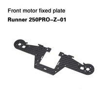 Walkera Front Motor Fixed Plate Mount Plate Runner 250PRO Z 01 Spare Part for Runner 250