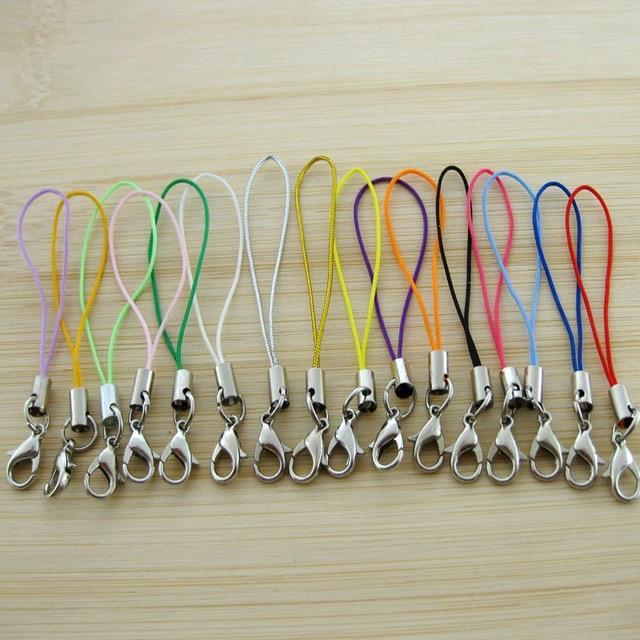 5PCS/Lot DIY Lobster Clasp Keychain Women Bag Phone Wallets Keyring Ornaments Ke