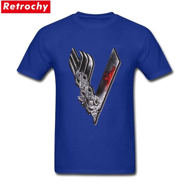 e432728ae placeholder Vikings Valhalla Odin T Shirts Men Custom Designer Short Sleeve  Cotton Male Summer Cheap Price Viking