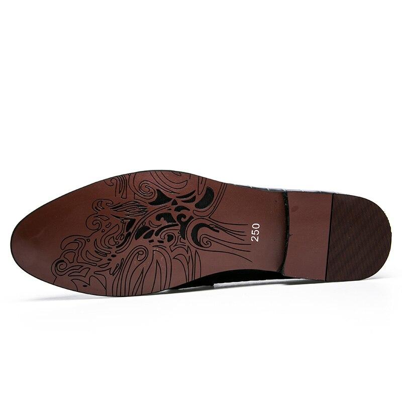 mens tassel shoes leather italian formal snake fish skin dress office footwear luxury brand fashion elegant oxford shoes for men (4)