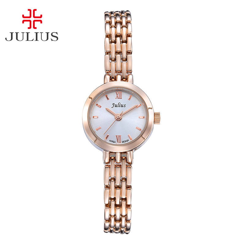Julius Lady Mini Women's Watch Japan Quartz Hours Fine Fashion Clock Bracelet Chain Band Simple Birthday Girl Christmas Gift julius lady women s watch japan quartz couple hours fine fashion clock stainless steel band girl birthday lovers gift box
