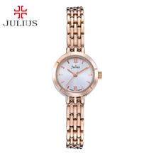 Mini Women s Lady Wrist Watch Julius Quartz Hours Best Fashion Dress Bracelet Band Simple OL