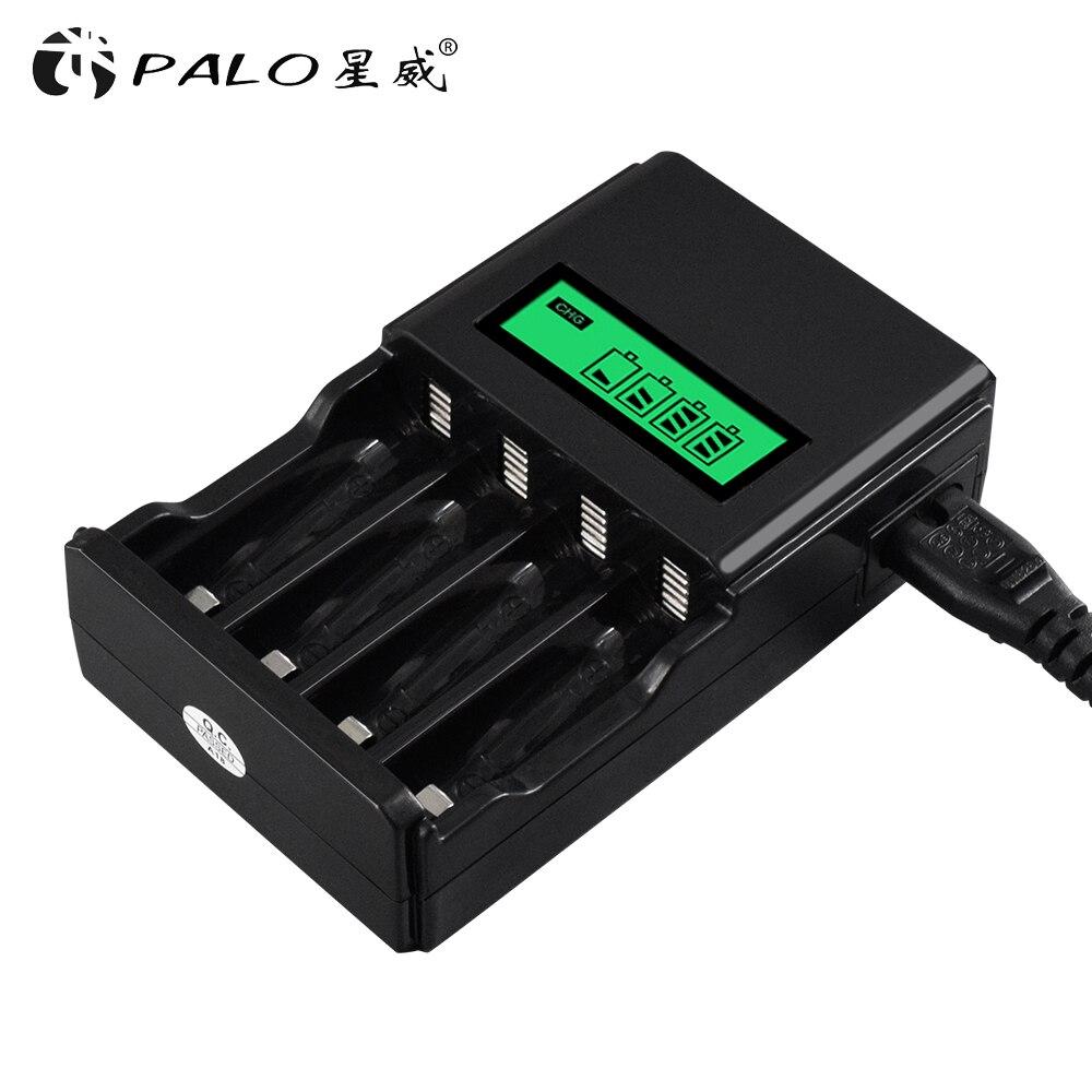 PALO 2018 Neue Verkauf C903B Smart Ladegerät Schnelle LCD Batterie Ladegerät Für AA AAA NIMH NICD Batterie Reach Verwenden