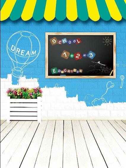 Baground Anak Sekolah : baground, sekolah, Awning, Blackboard, Digital, Flowersbackdrop, Photography, Studio, Backgrounds, 1603|studio, Background|photography, Backgroundsstudio, Background, AliExpress
